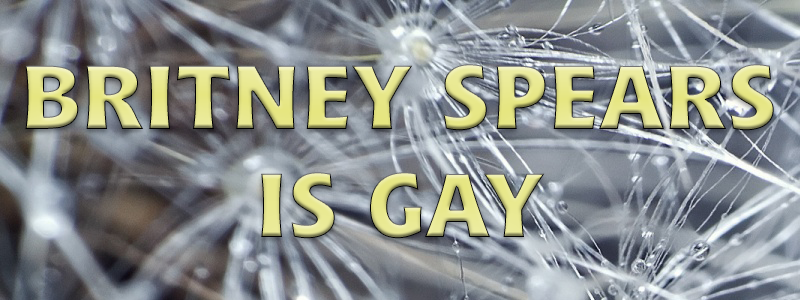 Britney Spears is Gay
